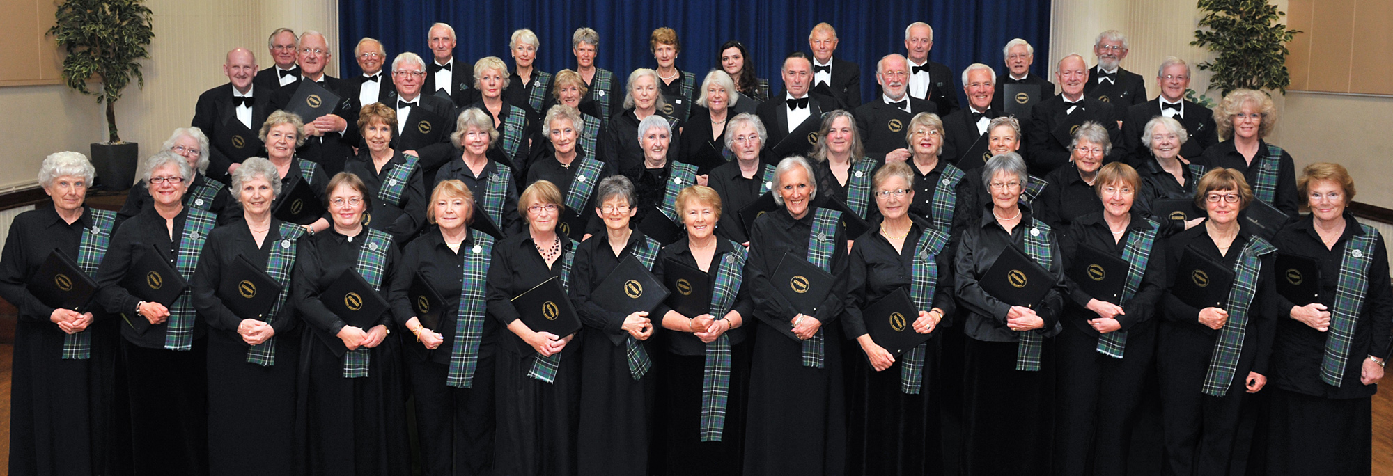 Wadebridge Choral Society members.